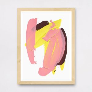caitlin hope flash print, abstract and colourful art