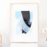 caitlin hope ocean air original artwork, bright colourful and abstract