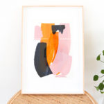 caitlin hope when we were young original artwork, bright colourful and abstract